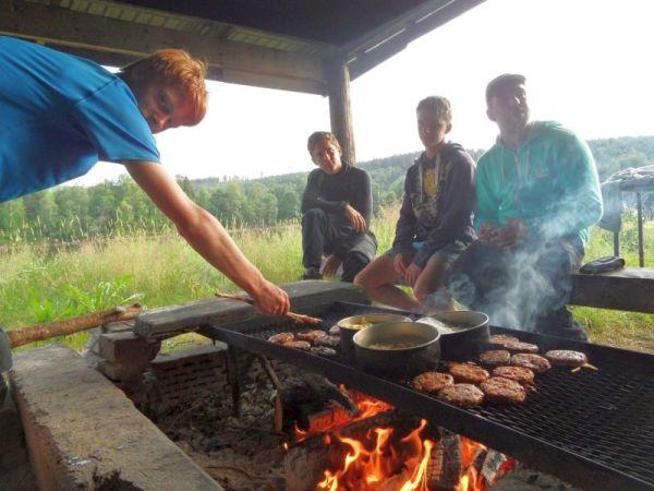 Survivalkamp Zweden