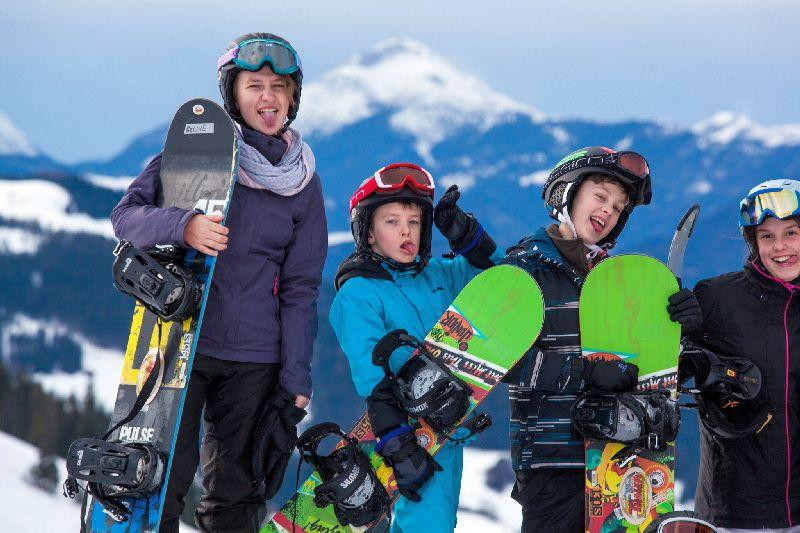 Snowboardvakantie 12-16 jaar